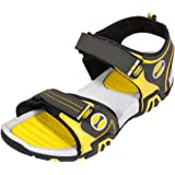 IndiWeaves Mens Yellow Super Comfortable Casual Sandal-Size-7