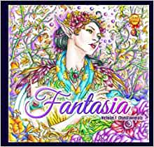 Amazon Fantasia Adult Coloring Book