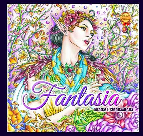 Fantasia Adult Coloring Book