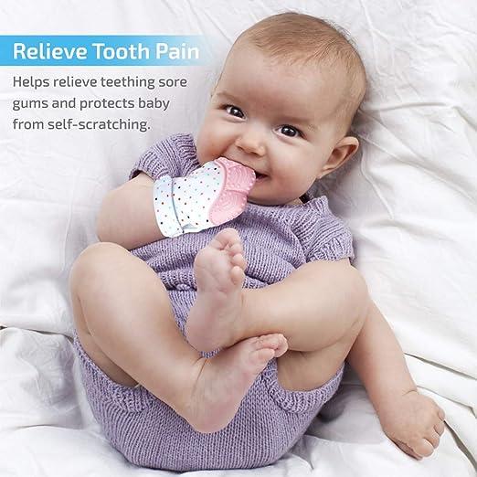 Amazon.com: Prohapi Manoplas de silicona para dentición de ...