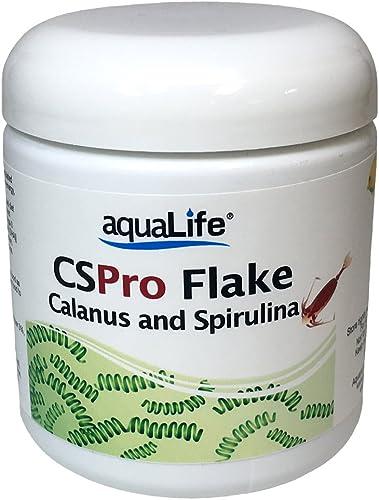 Aquarium Life Support Systems CS Pro Flake Calanus Spirulina Food 1oz