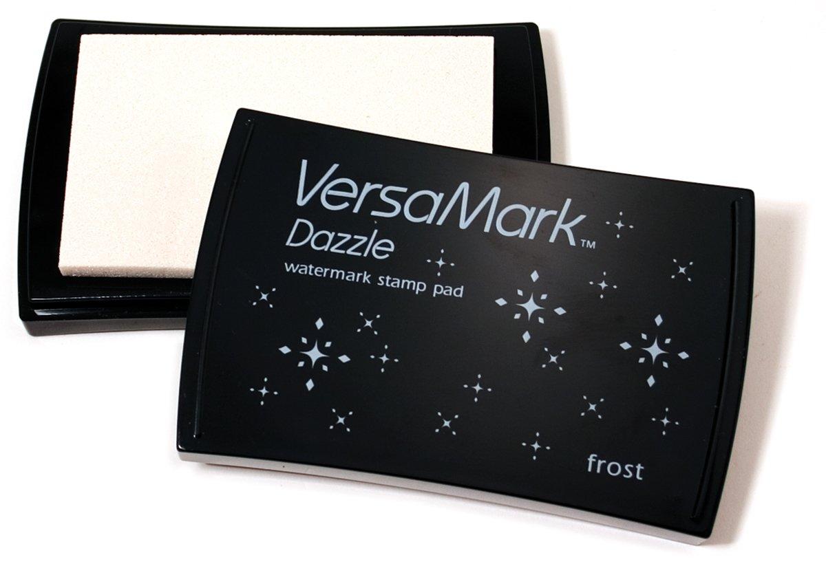 Tsukineko VersaMark Dazzle Pigment Inkpad, Frost, Clear Shimmer VM000002
