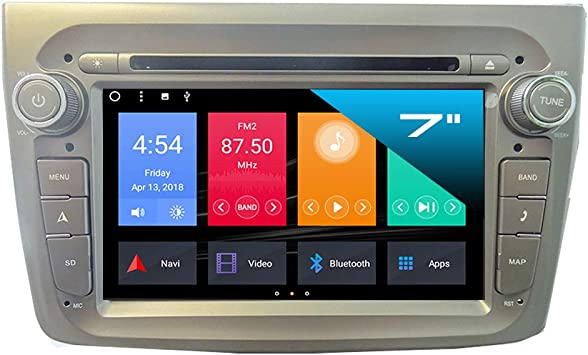 Taffio 7 Touchscreen Android Autoradio Gps Navigation Elektronik