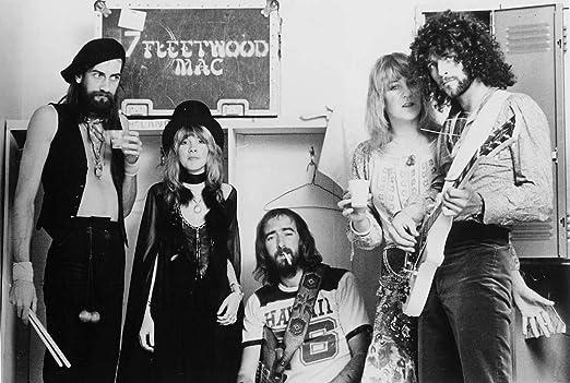 Fleetwood Mac Poster Quality Black and White Print Rumors