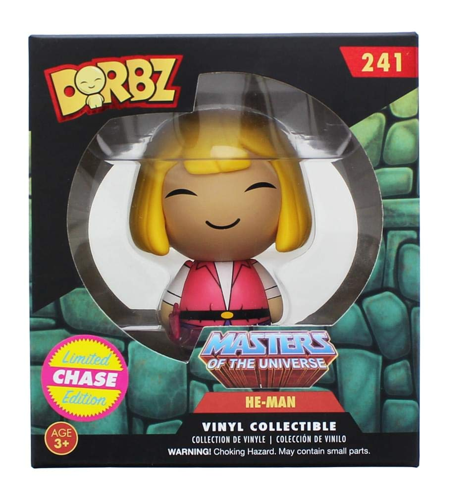 Masters of The Universe He-Man Dorbz Vinyl Figure Chase Variant