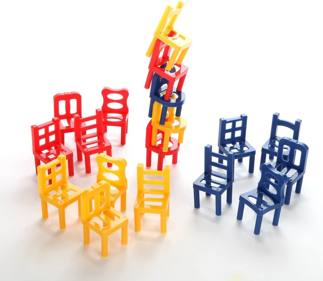 Family Fun Game Chairs Stacking Game