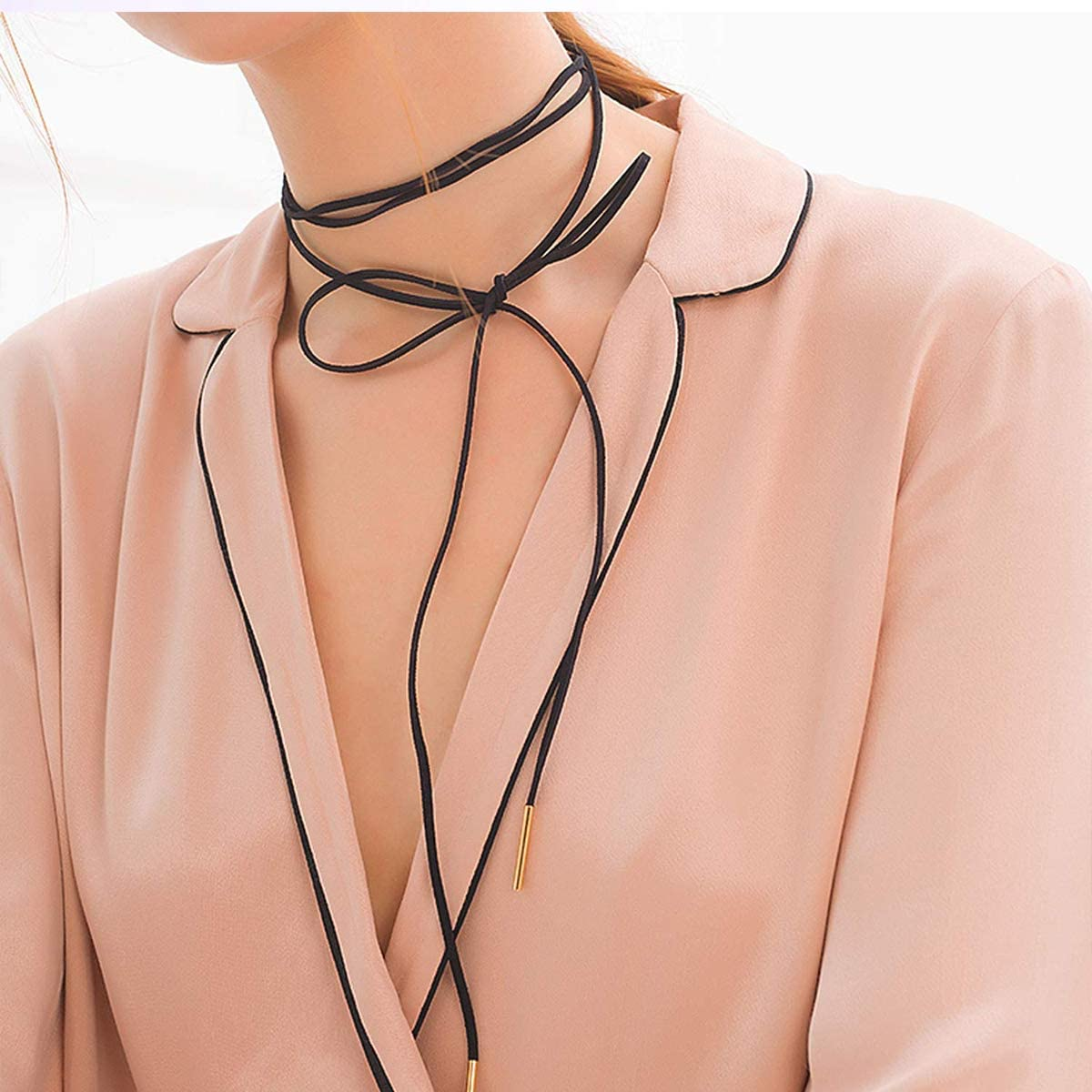 3 mm, 3 Colors 3 Pcs Faux Leather Cord String Suede Rope
