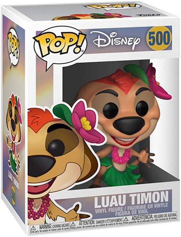 Funko- Pop Vinyl: The Lion King-Luau Timon Disney Figura ...