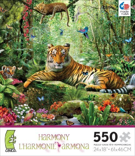 Ceaco Harmony Tiger Jigsaw Puzzle by Ceaco