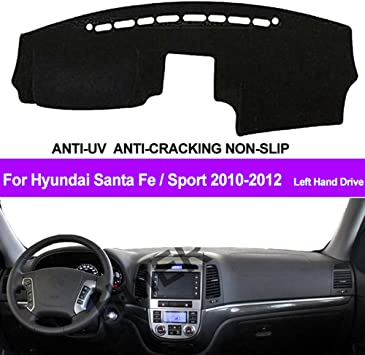 Car Dash Board Carpet Sun Cover Mat For Hyundai Santa Fe 2006 2012