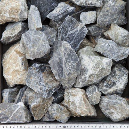 白砕石 割栗石 50-150mm 20kg(12.9L)×30袋セット 【600kg】【ロックガーデンにお勧めします!!】 B00BT9AODY   600kg