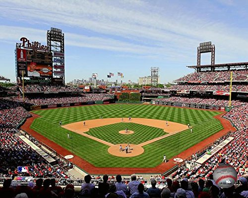Park Citizens Phillies Bank - Citizens Bank Park Philadelphia Phillies MLB Stadium Photo (Size: 8