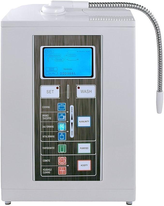 Aqua Ionizer Deluxe 7.0 Water Ionizer Alkaline Water Filtration System