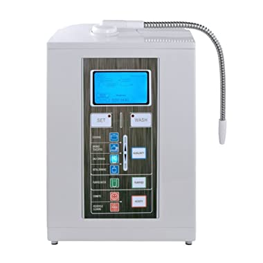 Aqua Ionizer Deluxe 7.0   Water Ionizer   Alkaline Water Filtration System   Produces pH 4.5-11.0 Alkaline Water   Up to -800mV ORP   4000 Liters Per Filter   7 Water Settings