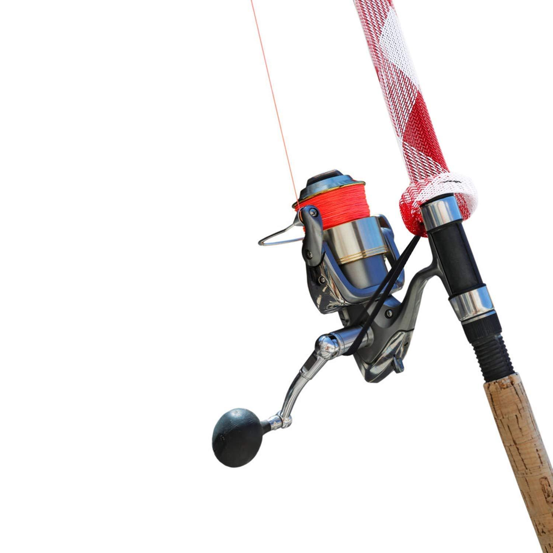 Wurfrute von 1,8-2,1 m LOCOLO Angelrute mit Umh/ängeband 10 St/ück f/ür Spinning