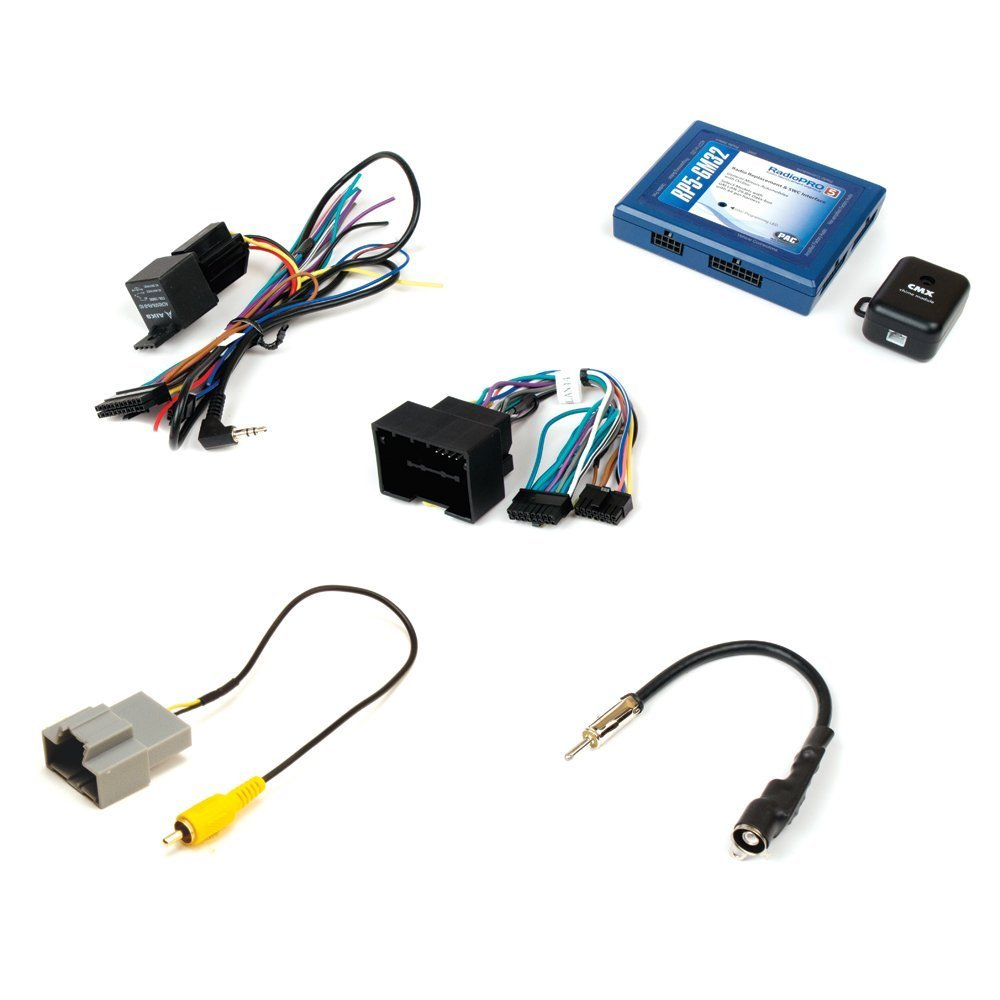 PAC RP5-GM32 Radio Replacement Interface With Built In OnStar Retention/Pre Programmed Steering Wheel Control Retention/Navigation Output for Select GM LAN Vehicles AAMP of America