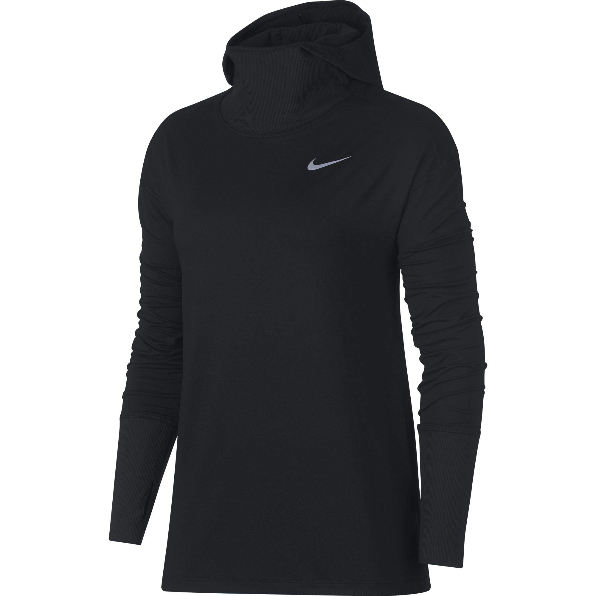 Nike Women's Element Running Hoodie Black Size Medium