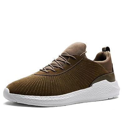 XIANV Neue Hohe Qualität Männer Mode Freizeitschuhe Herbst Mesh Schuhe Licht Atmungsaktiv Männer Schuhe Schnürschuhe (40, Blue)