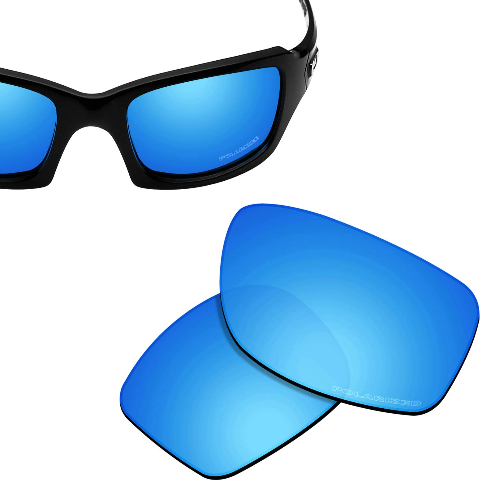 New 1.8mm Thick UV401 Replacement Lenses for Oakley Fives Squared - Options