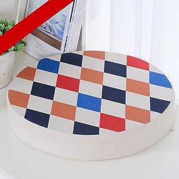 Cojín MXJ61 Forma Redonda Silla de Oficina Ordenador Silla ...