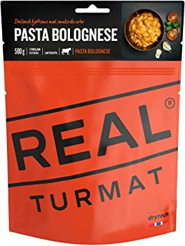 Field Meal Pasta Bolognaise Real Turmat
