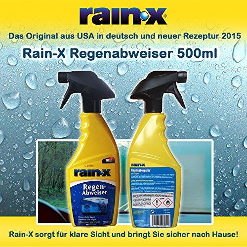 NEU 500ml Rain-X Regenabweiser Original Rain X jetzt in der Triggerflasche NEU