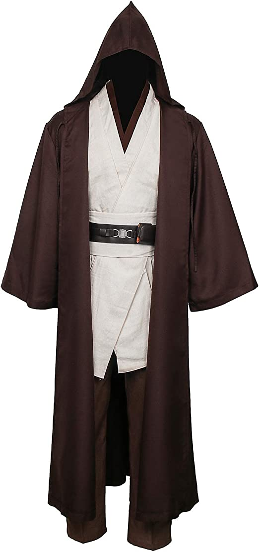NUWIND - Disfraz de Jedi Medieval para Hombre, con Capucha ...