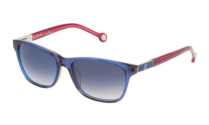 Carolina Herrera SHE643540D25 Gafas de Sol, Azul, 54 para ...