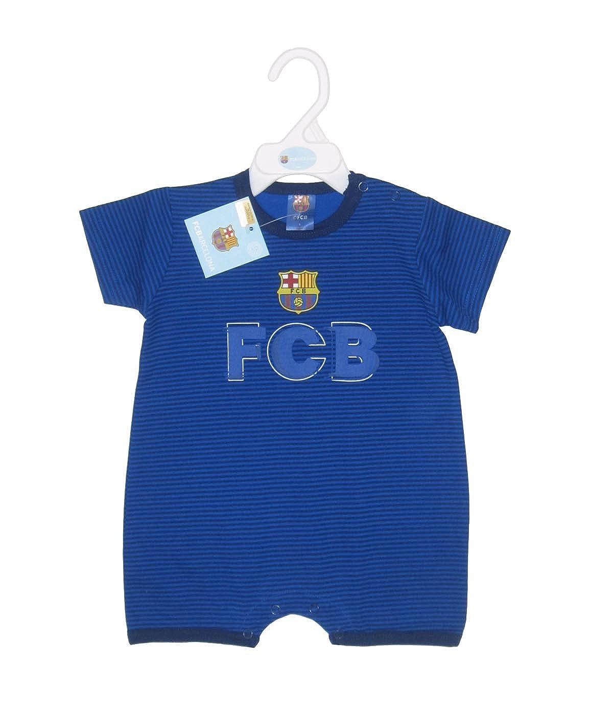 F.C.BARCELONA - Pelele Barça, Color Azul, Talla 18 Meses: Amazon.es: Ropa y accesorios