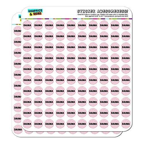 Daina - Name Planner Calendar Scrapbooking