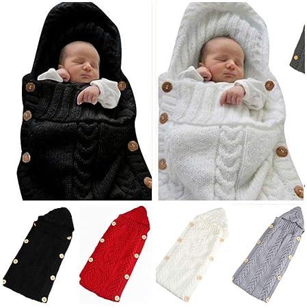 Baby Blanket Invierno Otoño Bebé Recién Nacido Suave Manta Swaddle ...