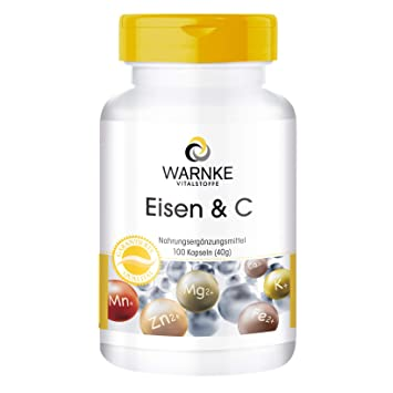 Hierro & C, 14mg de Hierro con vitamina C para la correcta obsorcion del hierro