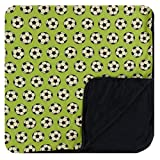 Kickee Pants Little Boys Print Toddler Blanket - Meadow Soccer, One Size