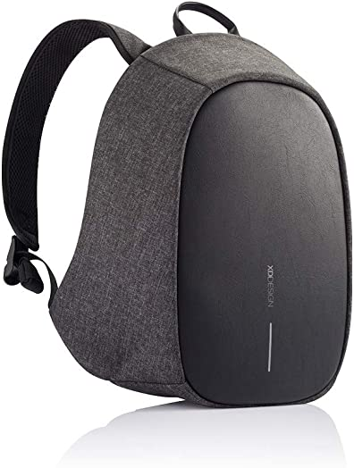 XD Design Elle Protective Backpack Black with SOS Alarm and App