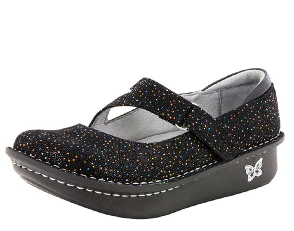 Alegria Womens Dayna Mary Jane Shoe, Sprinkles, Size 37 EU (7-7.5 M US Women)