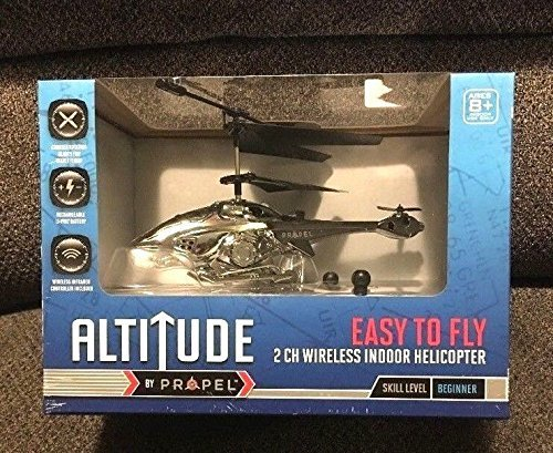 Altitude by Propel 2 CH Wireless Easy To Fly Indoor Helicopter