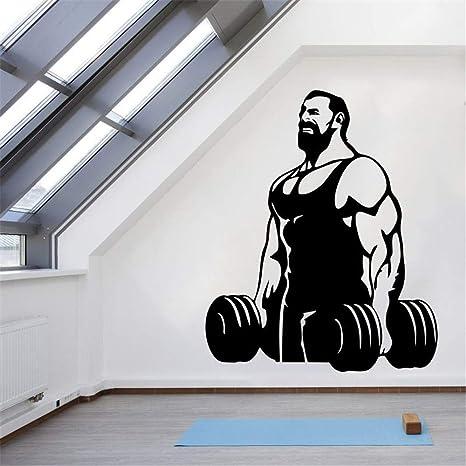 Ajcwhml DCTAL Fitness Gym Etiqueta de Fitness Etiqueta con ...
