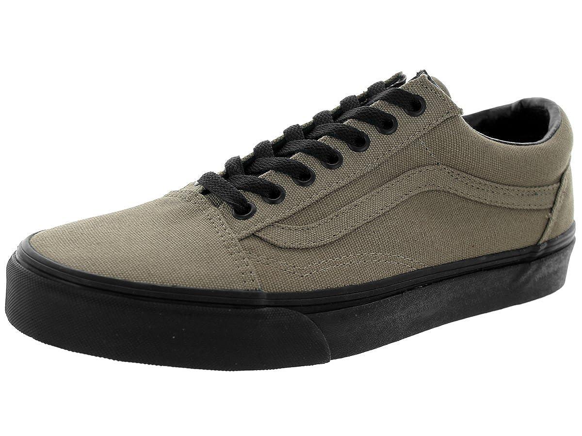 e91beb13d3 Vans Unisex Old Skool (Black Sole) Brindle Skate Shoe 7.5 Men US   9 Women  US
