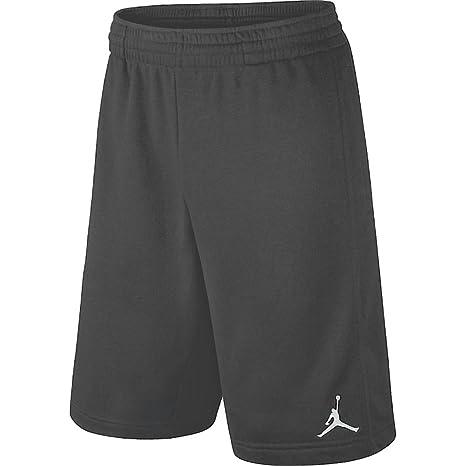7661fe266ff8 Image Unavailable. Image not available for. Color  Nike Air Jordan Dri Fit  Big Boys 8-20 Basketball Shorts Dark Grey (Small