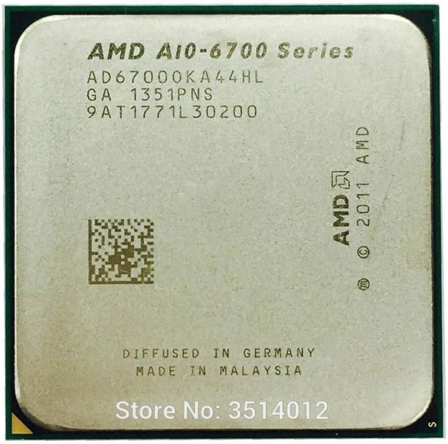 AMD APU A10 6700 APU A10 6700K 3.7 GHz Quad-Core CPU Processor AD6700OKA44HL Socket FM2