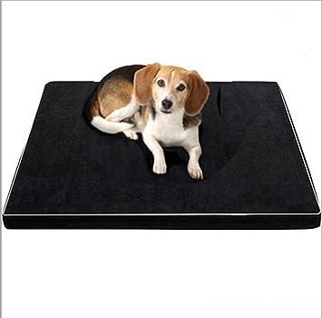 Bre Cama de Perro con Espuma de Memoria Adecuado para Perros medianos a Grandes Lavable Alfombra