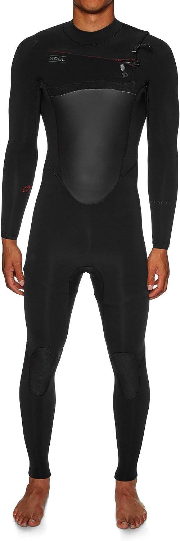 Xcel 5/4 Drylck ウェットスーツ L ブラック