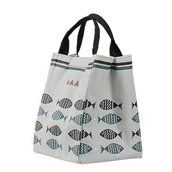 e5a54b8f15fb78 Amazon.com  Lunch Tote Cooler Bag for Women Kids Girls Men ...