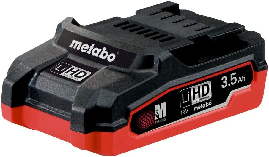 Color Verde Metabo 625346000 Bater/ía LiHD 18 V, Verde