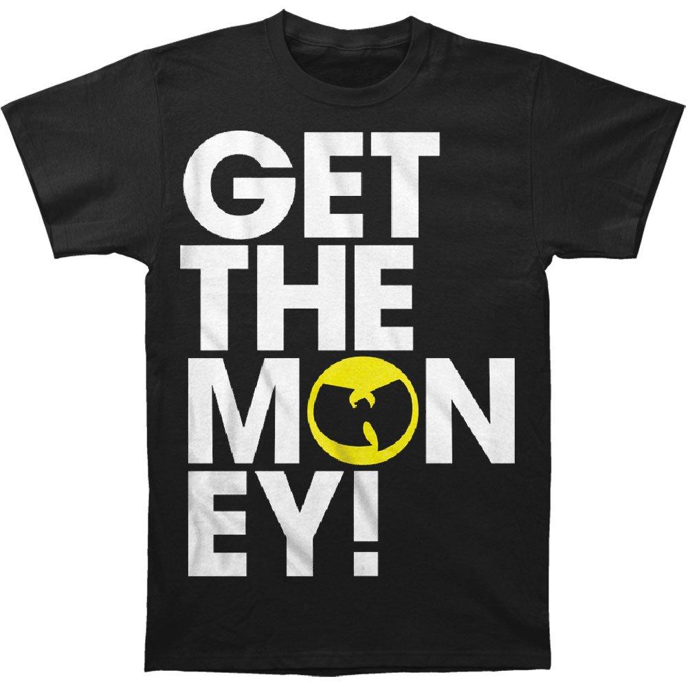 Wu Tang Clan S Get The Money Tshirt Black