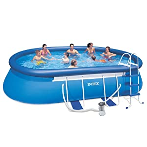 Intex Oval Frame Pool Review