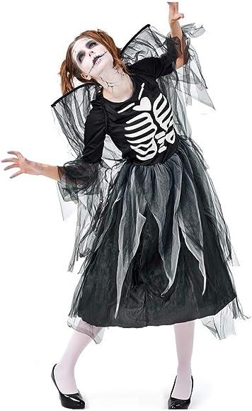 Sloater Disfraz de Halloween para Mujer, Estilo Retro, Falda Negra ...