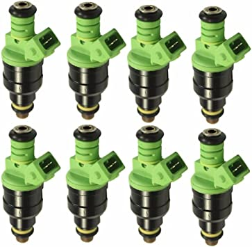 24lb fuel injectors Ford Chevrolet Pontiac Camaro Mustang 4 HOLLE BOSCH set 8