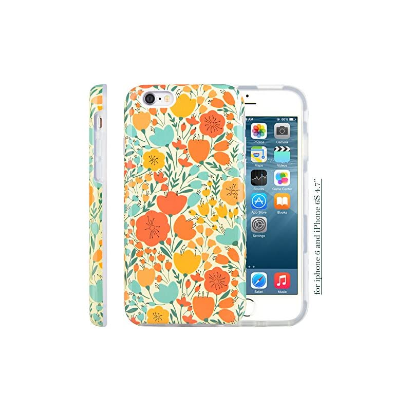 iPhone 6 6S Case, Dimaka Classic Autumn