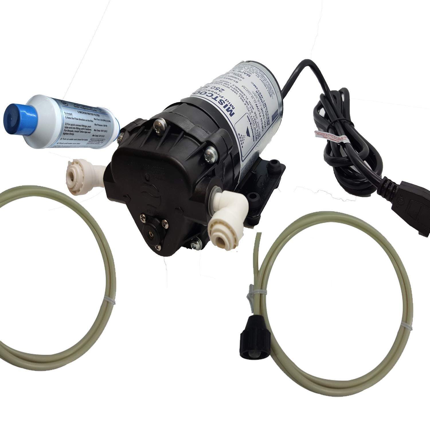 mistcooling 160 PSI Booster Pump | Mid Pressure Misting Pump | Can be Used for Fan Misting System and Line Based Misting Systems (110V AC) by mistcooling